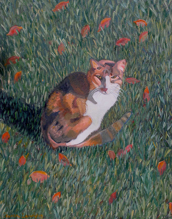 Calico Cat by Carmen Lundy