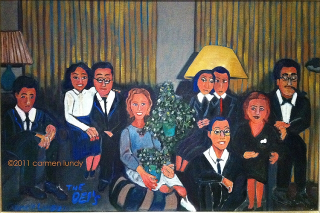 The Oei Family by Carmen Lundy